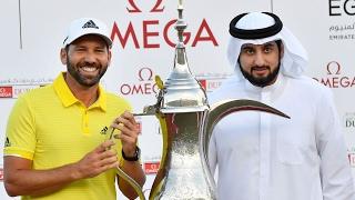 أحمد بن محمد يتوج جارسيا بطلا لأوميجا دبي ديزرت كلاسيك