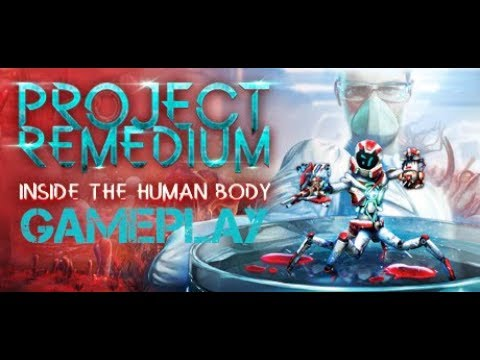 Project Remedium - PC gameplay (story-driven action shooter) |