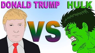 Hulk vs Donald Trump