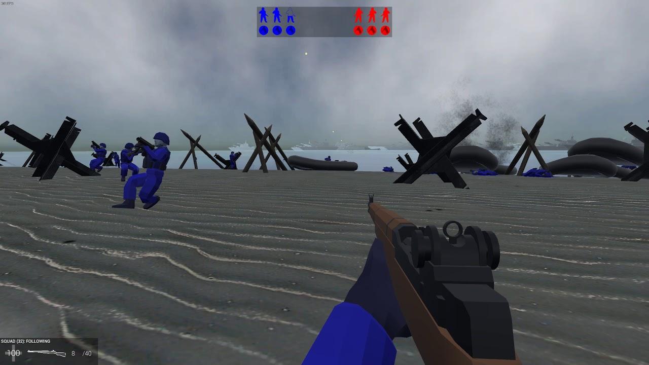 Ravenfield D-Day Beach Landing