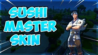 Fortnite Gameplay// New Sushi Master Skin//New item shop//Come chill
