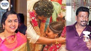 CELEBRITIES AT SOUNDARYA RAJINIKANTH'S WEDDING..! | LittleTalks
