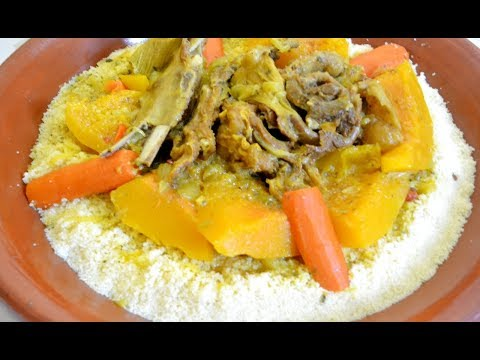 الكسكس-المغربي-بالقديد-والخضر-بأحسن-طريقة-وألذها-couscous-maroocain