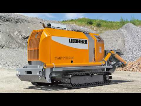 Liebherr - Crawler-mounted Concrete Pump THS 110 D-K