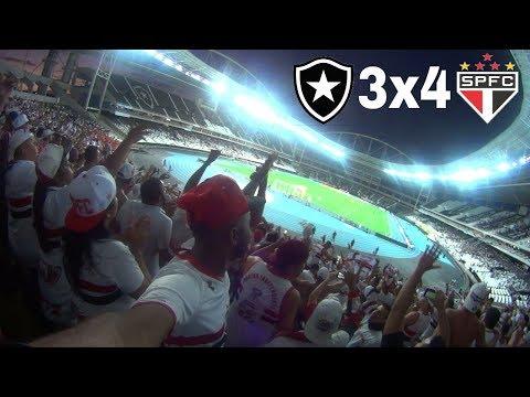 O ENGENHÃO VIROU O MORUMBI- BOTAFOGO 3x4 SÃO PAULO