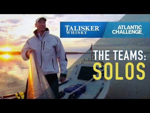 Talisker Whisky Atlantic Challenge 2015: THE TEAMS - Solos
