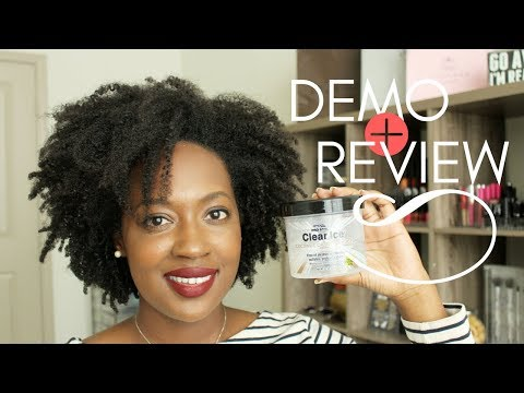 Clear Ice Coconut Oil Styling Gel - Ampro Pro Styl | Demo & Review