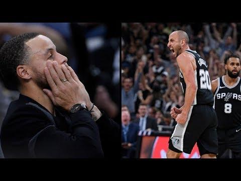 Golden State Warriors vs San Antonio Spurs Game Highlights / Game 4 / 2018 NBA Playoffs