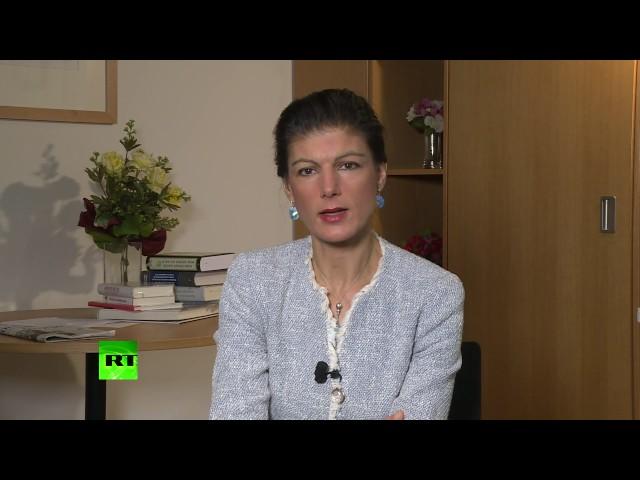 Merkel always believed her function is to recognize American hegemony – German MP Sahra Wagenknecht