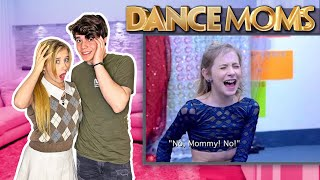 My CRUSH REACTS To Me On DANCE MOMS**FUNNY REACTION**| Elliana Walmsley