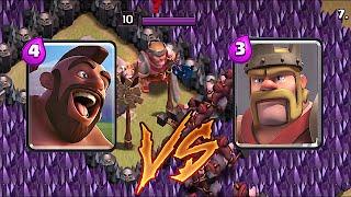 Clash Of Clans -HOG RIDER vs. KING!! (TROLL BROSS)