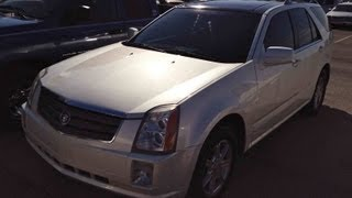 2005 Cadillac SRX 3.6L V6 Start Up, Quick Tour, & Rev With Exhaust View - 85K