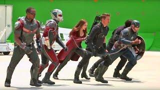 Съемки фильма Первый Мститель: Противостояние - Гражданская война  - Filming Captain America