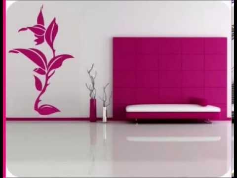 Decoracion de interiores con vinilos decorativos florales