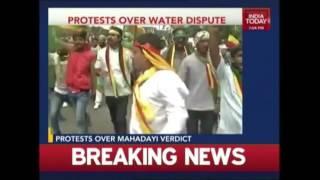 Mahadayi Water Dispute: Karnataka Observes Statewide Bandh