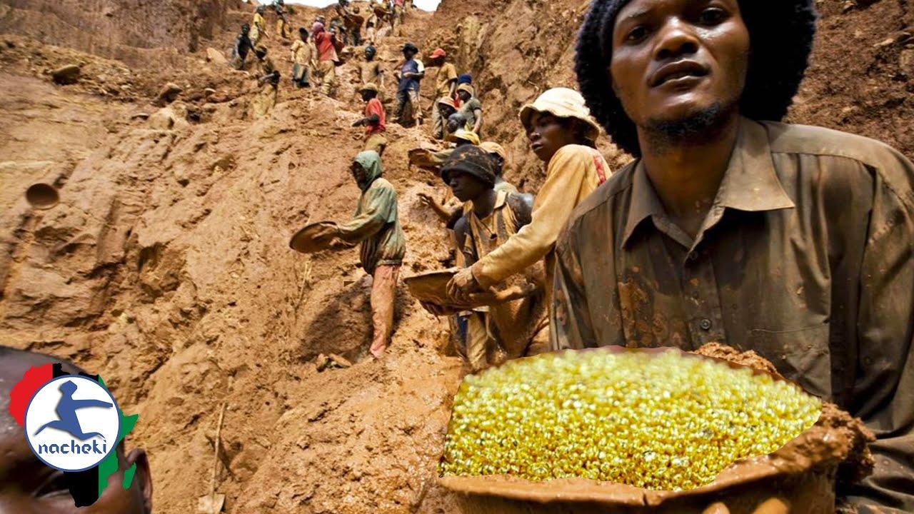 Video Viral Gunung Emas di Kongo