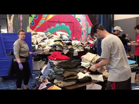 Aftermath: Inside Houston's over-packed shelter