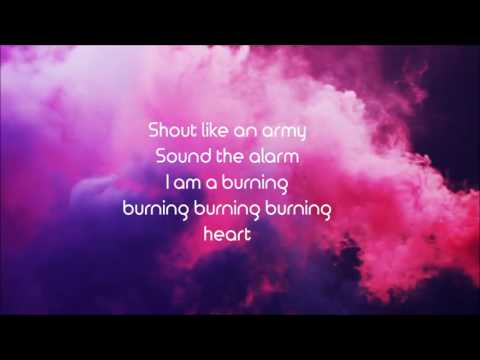 Burning Heart // SVRCINA (Lyric Video)