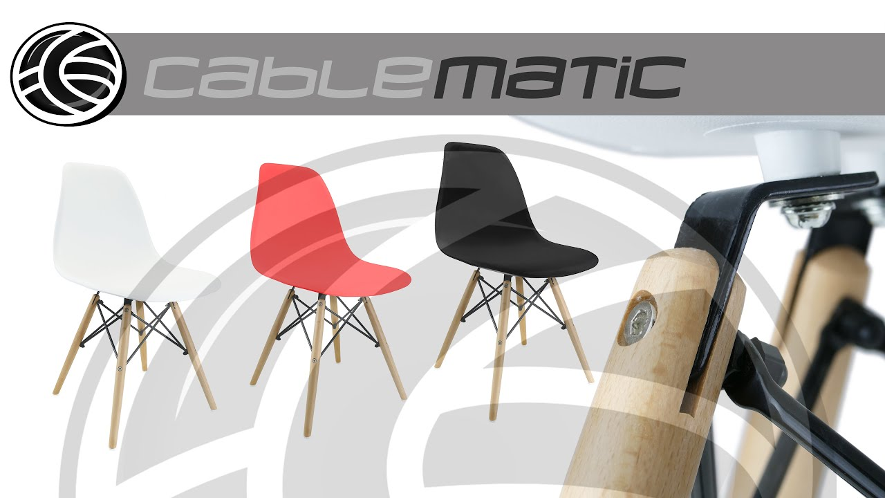 rplica silla eames tower wood dsw distribuido por cablematic