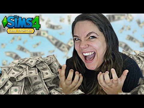 DEI O GOLPE DO BAU! - The Sims 4 Ilhas Tropicais