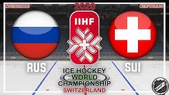 Russia - Suisse 🏆 Main round ★ 2020 IIHF Ice Hockey World Championship