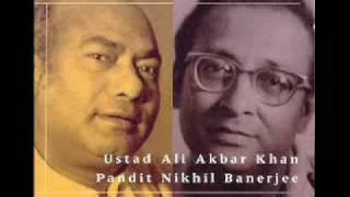 Nikhil Banerjee & Ali Akbar Khan - Raga Misra Mand - Mahapurush Mishra on Tabla