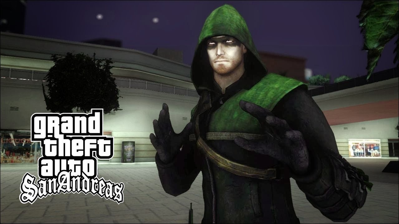 gta san andreas green arrow tv show bow youtube