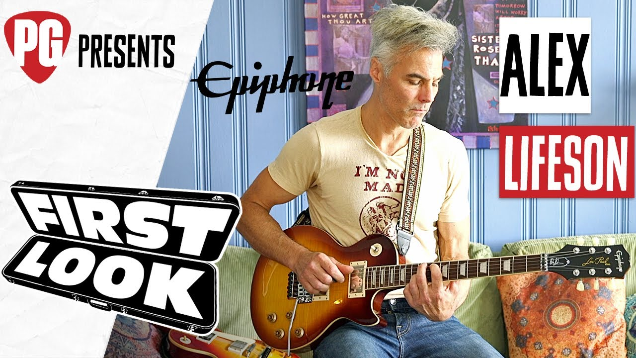 Epiphone Alex Lifeson Les Paul Axcess Standard Demo - First Look