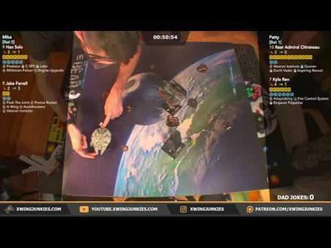 X-Wing TMG: Han, Jake vs Rear Admiral Chiraneau, Kylo Ren