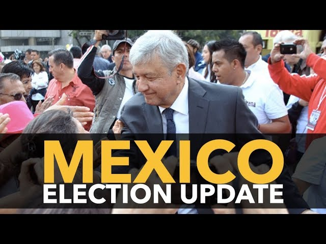 Left Candidate Lopez Obrador Leads Mexican Presidential Race by an Insurmountable Margin
