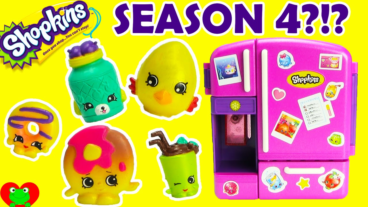 Shopkins Season 4 PETKINS With So Cool Metallic Fridge