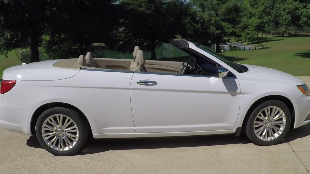 west tn 2014 chrysler 200 hard top convertible limited v6 nav for sale info www sunsetmotors com. Black Bedroom Furniture Sets. Home Design Ideas