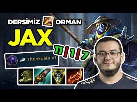 SURPRİSE I AM BACK  DERSİMİZ ORMAN : JAX