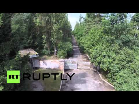 Germany: Drone captures historic Sperenberg airfield