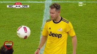 F1 Racing Driver Sebastian Vettel Plays Football on Charity Match - Partita del Cuore 2017