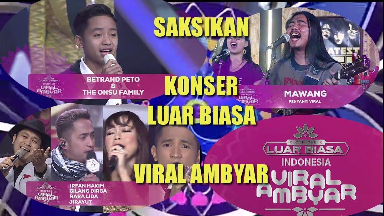 Viral Ambyar Konser Luar Biasa 25 Tahun Luv Indosiar Youtube