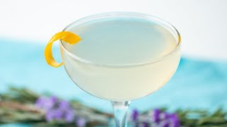 Unwind With This CBD Infused Rosemary Lavender Cocktail •Tasty
