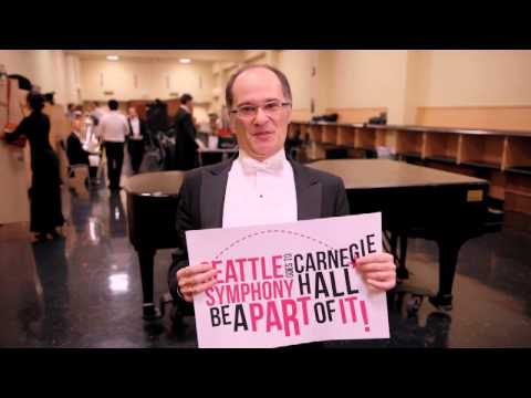 The Seattle Symphony Goes To Carnegie Hall