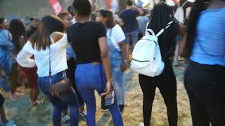 UCT FRESHER'S BRAAI 2018 (sister bettina) lit moves
