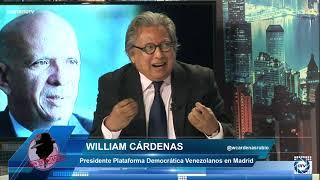 William Cárdenas:EL POLLO CARVAJAL es el hombre clave para acabar con PODEMOS y Sánchez lo sabe