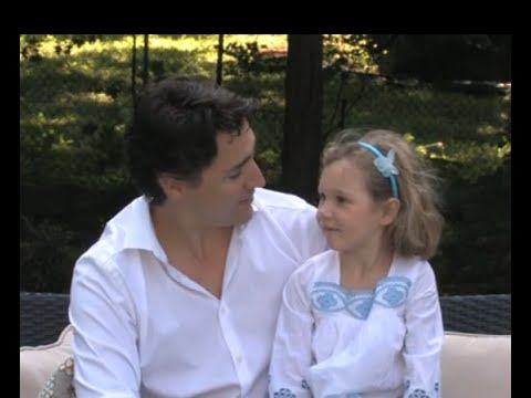 Justin and Ella-Grace Margaret Trudeau - Fathers Empowering Daughters