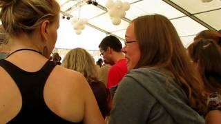 "Naragonia (& Jeroen Geerinck) - ""Les deux freres"" - (?Breton dance) - Boombal Festival 2012 (3/6)"