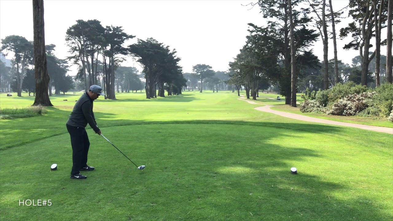 Playing Tpc Harding Park In San Francisco Ca Youtube