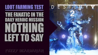 DESTINY 2 - Solo Loot Farm Test #3 - Nothing Left to Say (Patched)