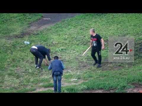 В Нижнекамске молодые люди жестоко избили нетрезвых мужчин