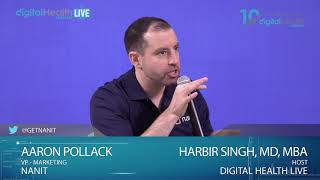 Interview Aaron Pollack/Nanit - Digital Health Summit Live Studio - #CES2019 #DHS19