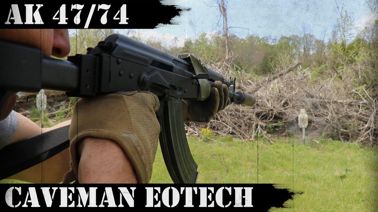 AK 47/74 Caveman EOTech - Ooga Booga!