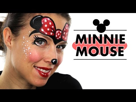 Minnie Mouse Face Painting | Ashlea Henson