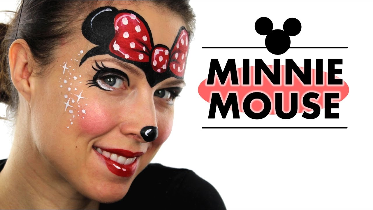 Minnie Mouse Face Painting | Ashlea Henson - YouTube