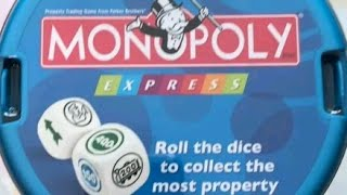 Ep. 117: Monopoly Express Dice Game Review (Parker Brothers 1991)
